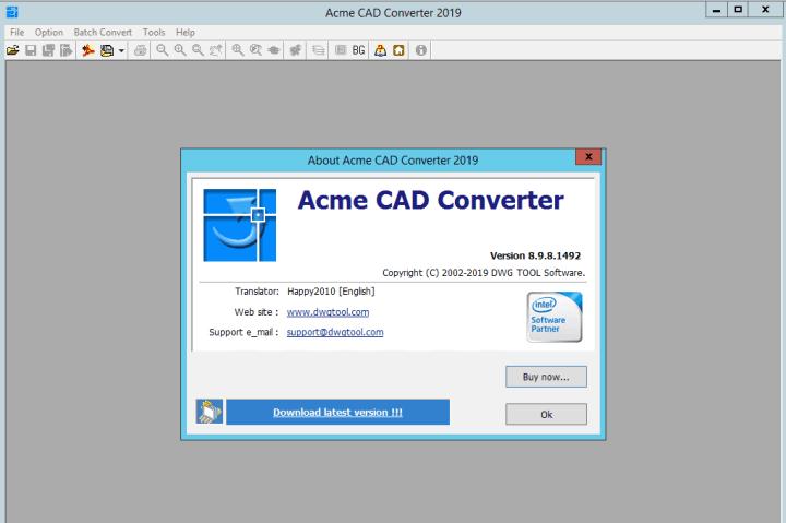 Acme CAD Converter 2019 v8.9.8.1492 Crack