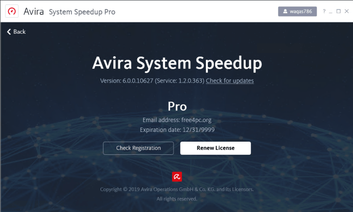 Avira System Speedup Pro 6.0.0.10627 Keygen
