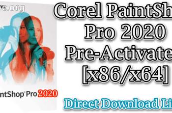 Corel PaintShop Pro 2020 v22.0.0.112 Pre-Activated