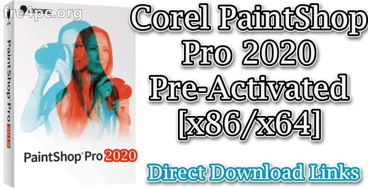 Corel PaintShop Pro 2020 Pre-Activated