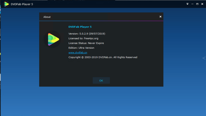 DVDFab Player Ultra 5.0.2.9 Crack