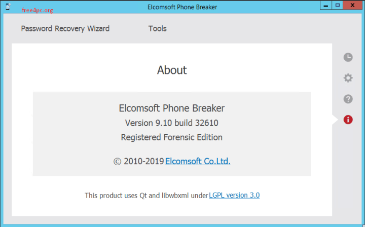 Elcomsoft Phone Breaker Forensic Edition 9.10.32610 Crack