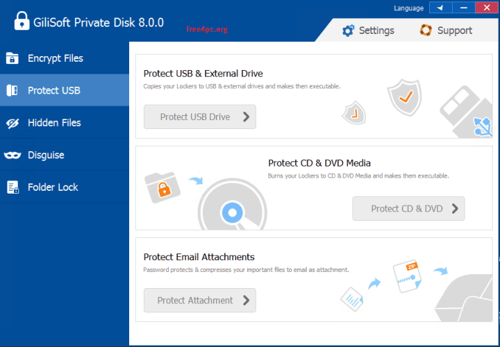 GiliSoft Private Disk 8.0.0 Key