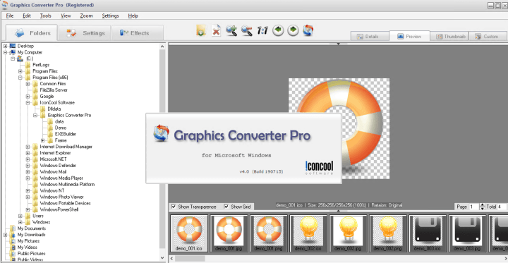Graphics Converter Pro 4.0 Build 190715 Serial Key