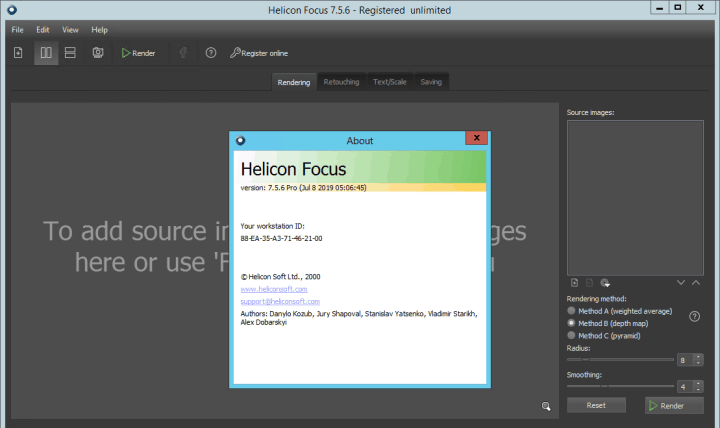 Helicon Focus Pro 7.5.6 full version
