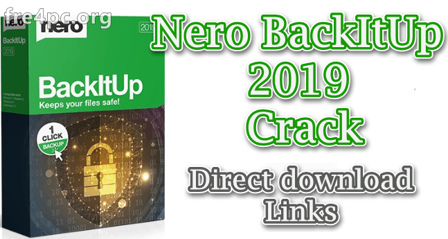 Nero BackItUp 2019 Crack
