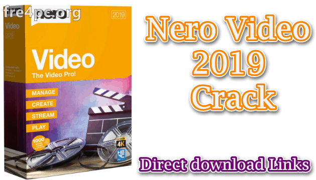 Nero Video 2019 Crack