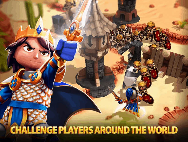 Royal Revolt 2 Tower Defense RPG Ver. 5.1.0 MOD APK