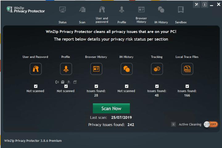 WinZip Privacy Protector Premium 3.8.6 Crack