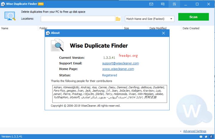 Wise Duplicate Finder Pro 1.3.3.41 Crack