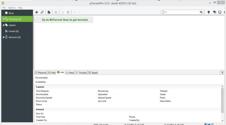 uTorrent Pro 3.5.5 Build 45291 Cracked