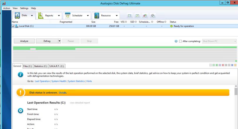 Auslogics Disk Defrag Ultimate 4.11.0.0 Full version