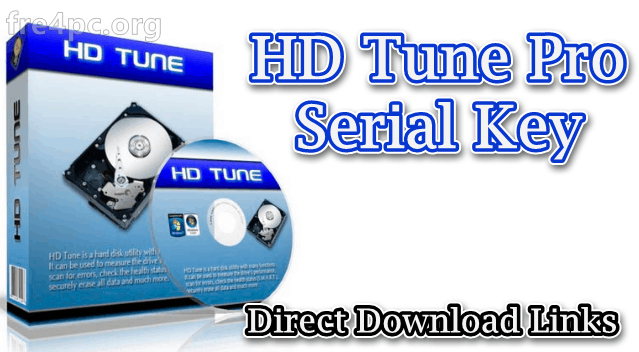 HD Tune Pro Serial Key