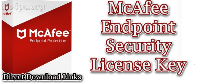McAfee Endpoint Security License Key