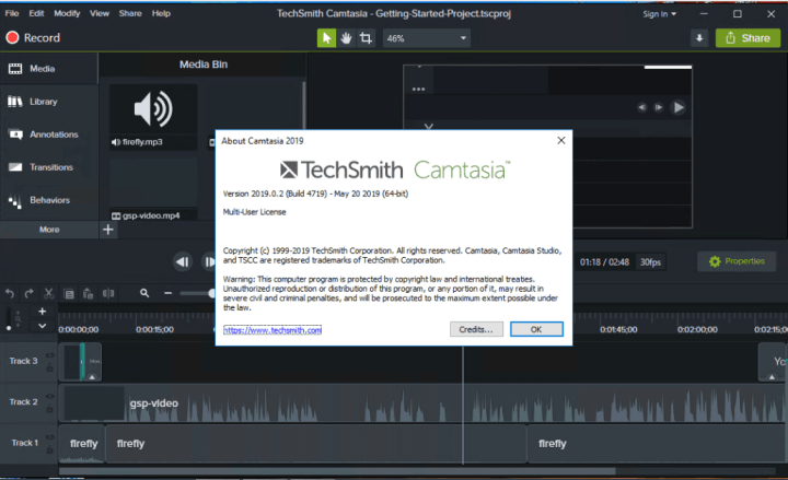 TechSmith Camtasia 2019.0.7 Build 5034 Crack