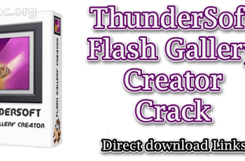 ThunderSoft Flash Gallery Creator Crack