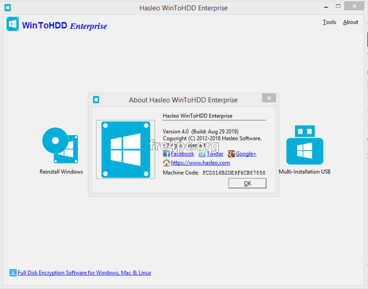 WinToHDD Enterprise 4.0 Crack