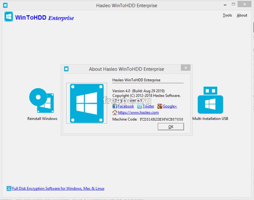 WinToHDD Enterprise 4.0 Crack