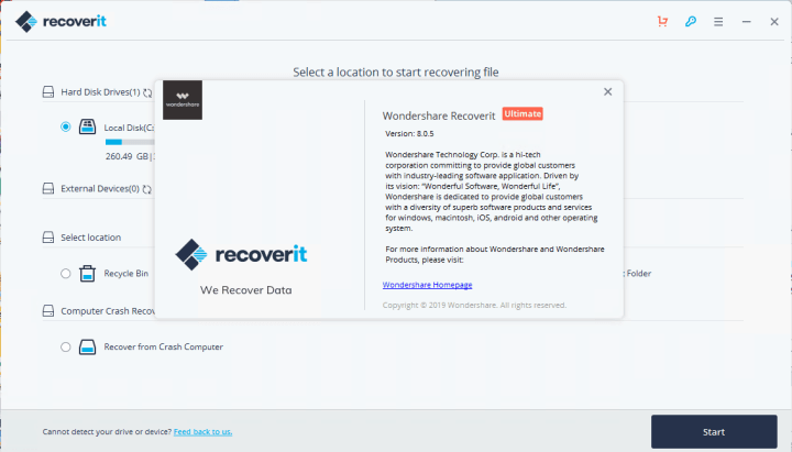 Wondershare Recoverit Ultimate 8.0.5.24 Crack