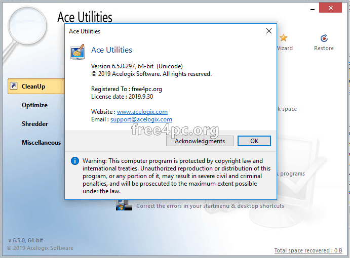Ace Utilities Crack