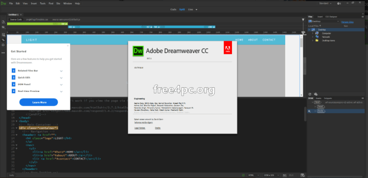 Adobe Dreamweaver CC 2018 Keygen Free download