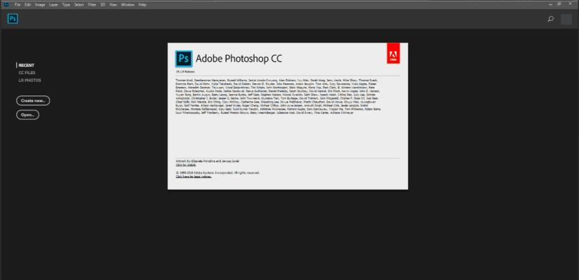 Adobe Photoshop CC 2018 Keygen