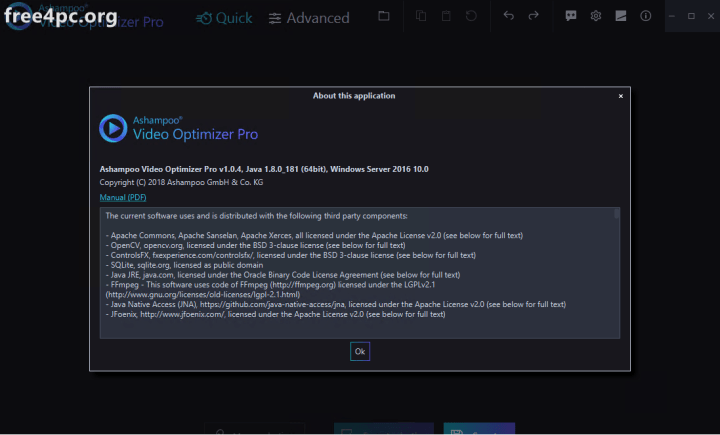 Ashampoo Video Optimizer Pro Crack Free Download