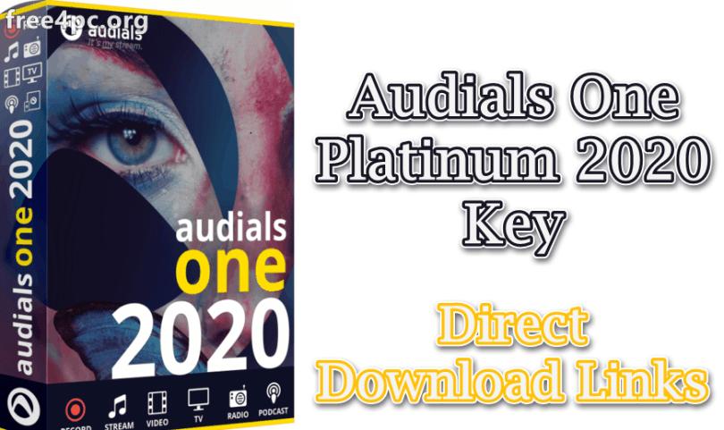 Audials One Platinum 2020 Key