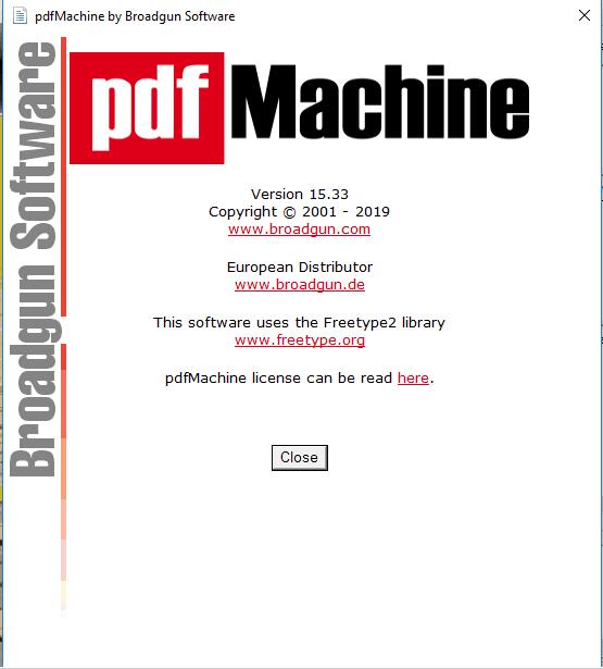 Broadgun pdfMachine Ultimate Serial key