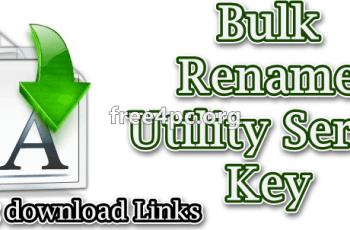 Bulk Rename Utility Serial Key