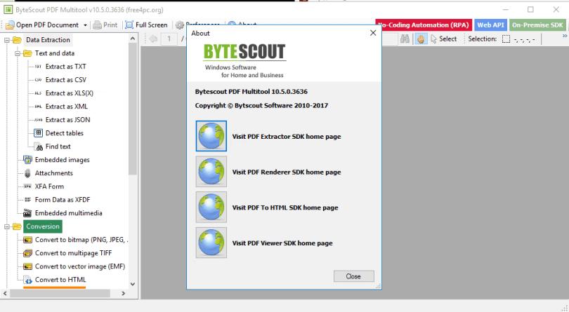 ByteScout PDF Multitool 10.5.0.3636 Business Key