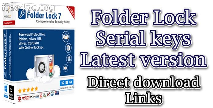 Folder Lock Serial key