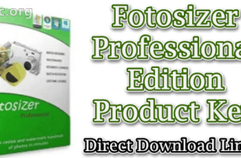 Fotosizer Professional Edition Product Key