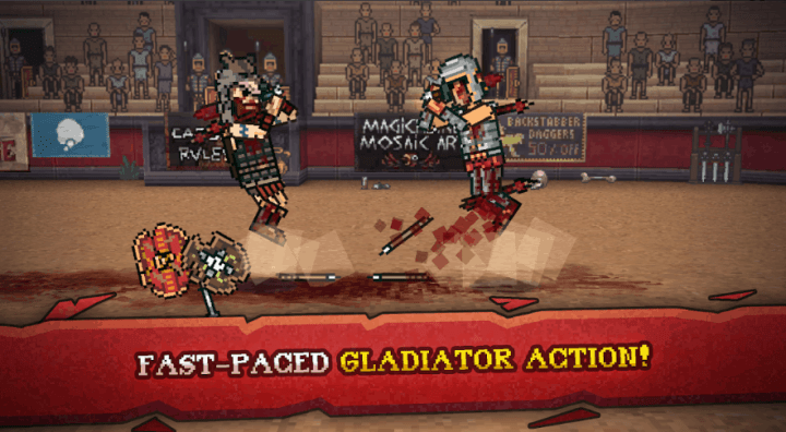 Gladihoppers Gladiator Battle Simulator v2.0.3 MOD APK