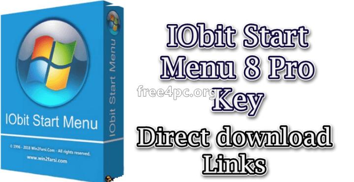 IObit Start Menu 8 Pro Key