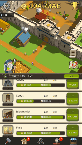 Idle Medieval Tycoon Idle Clicker Tycoon Game v1.0.5.4 MOD APK