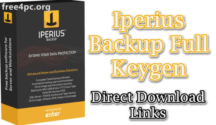 Iperius Backup Full Keygen
