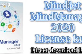 Mindjet MindManager 2020 License key