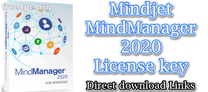 Mindjet MindManager 2020 License key