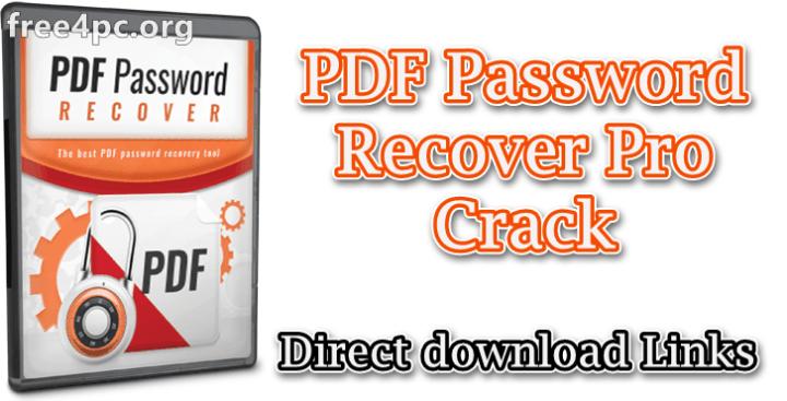 PDF Password Recover Pro Crack