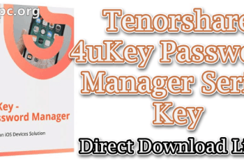 Tenorshare 4uKey Password Manager Serial Key
