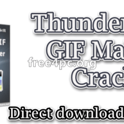 ThunderSoft GIF Maker Crack