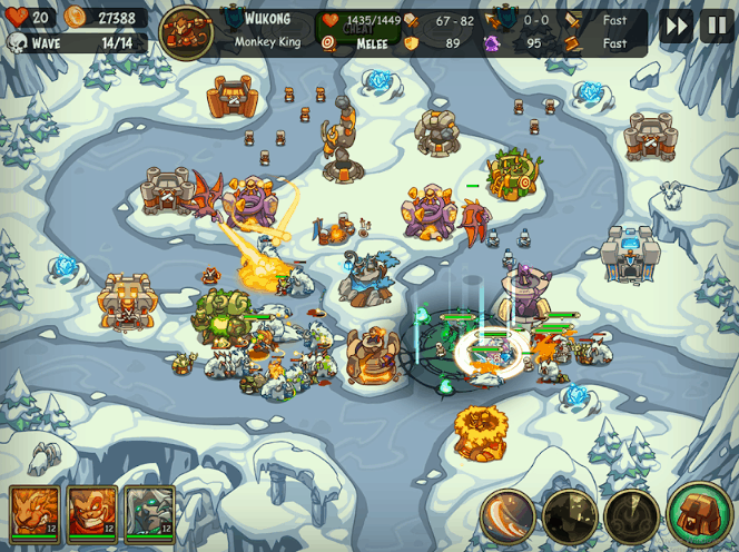 Tower Defense Crush Empire Warriors TD v1.0.0 MOD APK