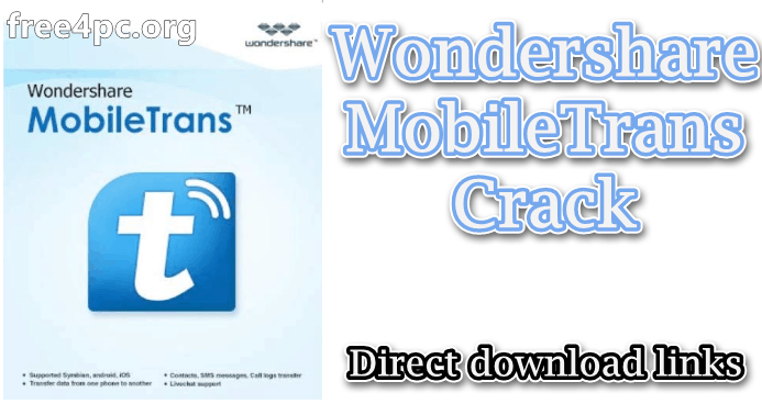 Mobiletrans Free Download With Crack
