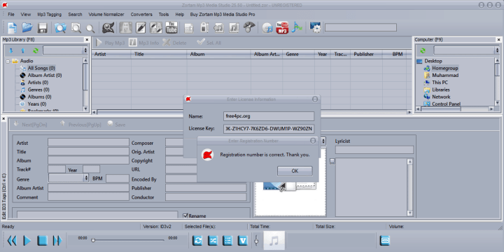 Zortam Mp3 Media Studio Pro Keygen