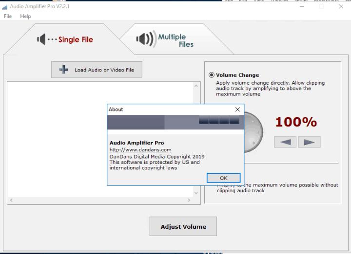 audio amplifier pro registration code