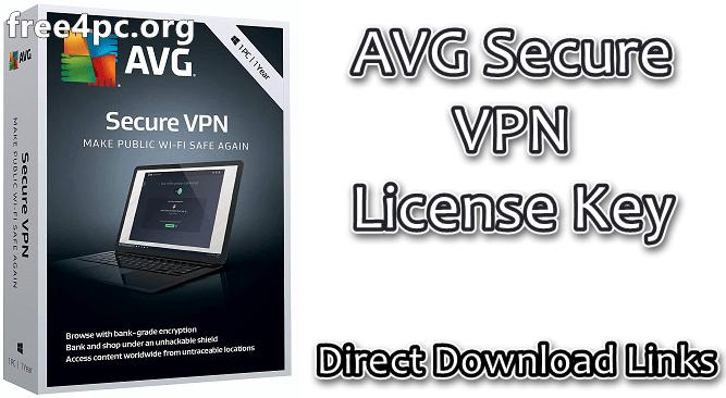 AVG Secure VPN License Key