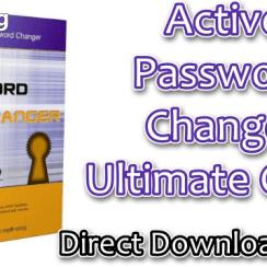 Active Password Changer Ultimate Crack