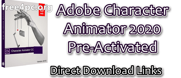 Adobe Character Animator 2020 Pre-Activated
