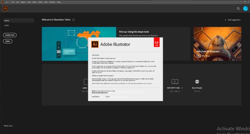 Adobe Illustrator 2020 Full Version